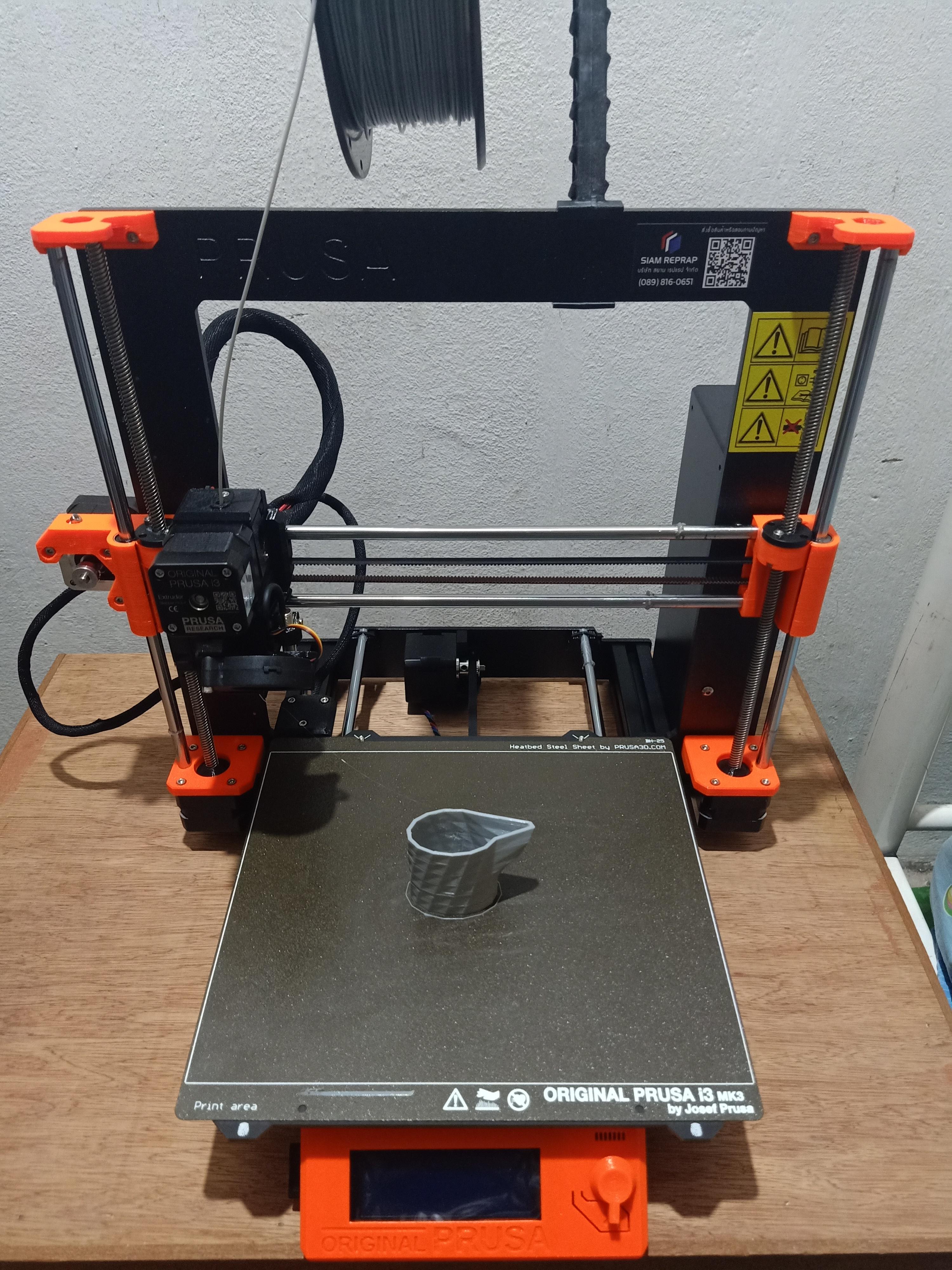 เครื่อง 3D Printer (Original Prusa i3 MK3S)